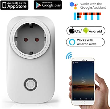 Smart Plug Intelligent Switch, Wireless Remote Control Outlet ...