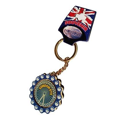 Amazon.com: London Eye clave Cadena/Rueda De La Fortuna ...