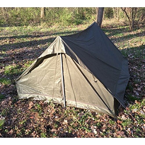 French-Army-Military-Surplus-C&ing-2-Man-Pup- & French Army Military Surplus Camping 2 Man Pup Tent | DiscountTentsNova