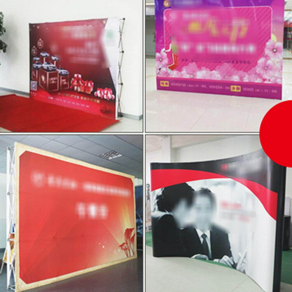 Display Backdrop Stand, 88FT Trade Show Booth Pop Up Backdrop Wall for Hotel, Shopping malls, Weddings by GDAE10 (Image #8)