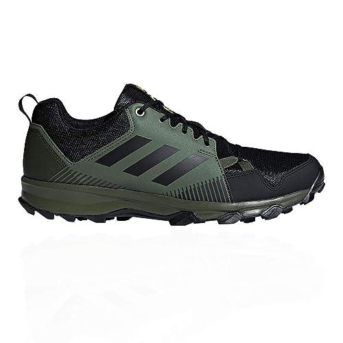 adidas Terrex Tracerocker, Zapatillas de Trail Running para Hombre, Negro Negbás/Verbas 000