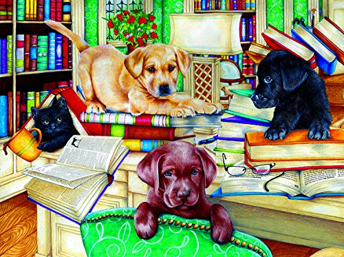 SunsOut Reading Time 500 Piece Jigsaw Puzzle
