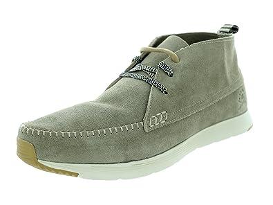 Ransom Men's Alta Mid Deep Tan/Light Bone Casual Shoe 8 Men US