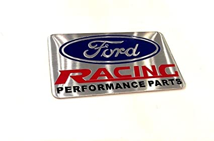 Ford Racing Parts >> Amazon Com Ford Racing Performance Parts Logo Emblem