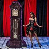 7 ft. 4 in. Haunted Hotel Grand Father Clock Standee