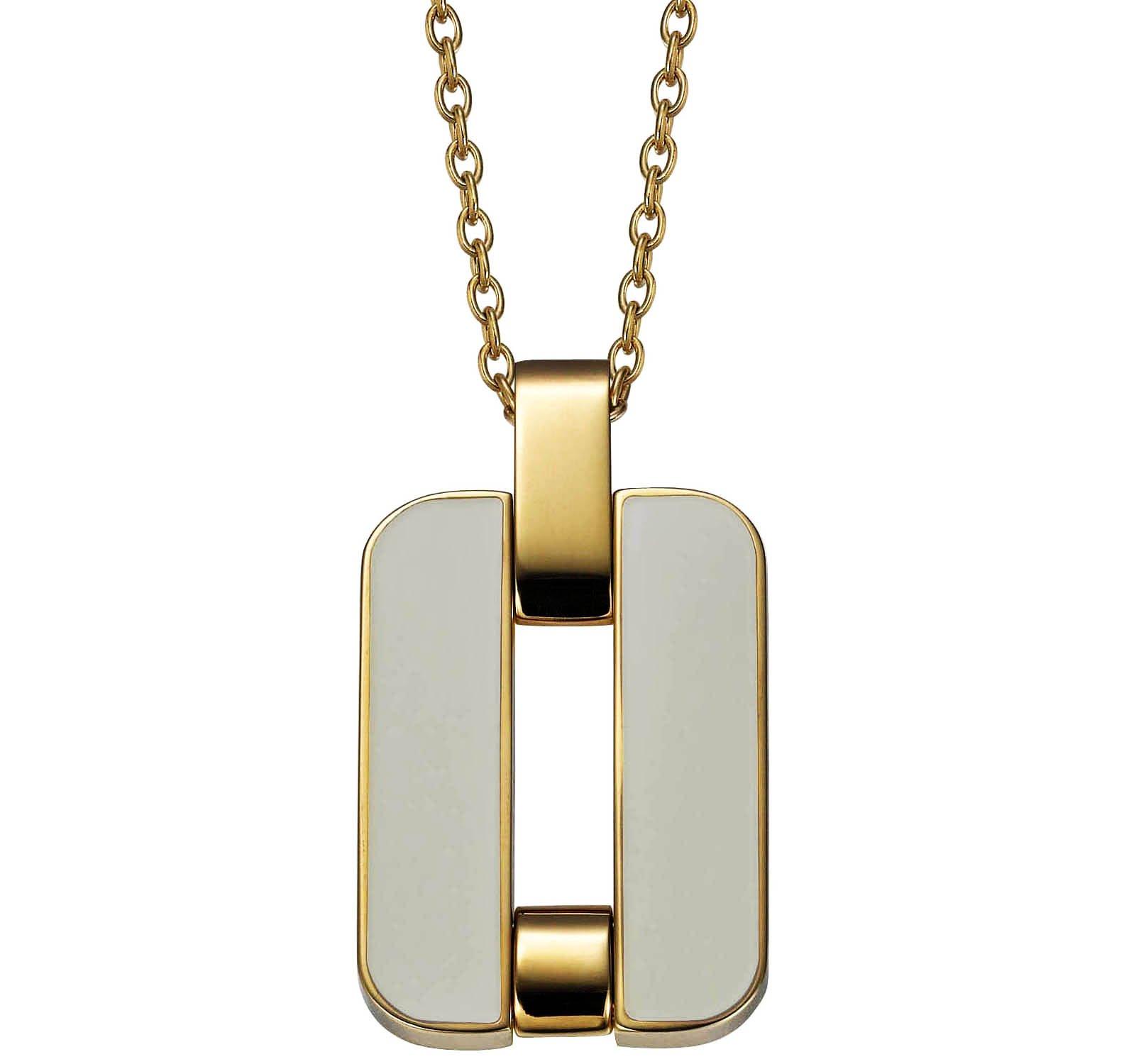Joop! Jewelry Pristine JPNL10563B420 womans necklace Epoxy inlay