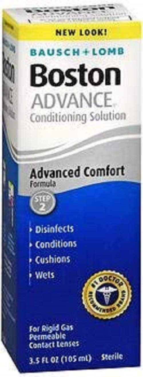 Bausch & Lomb Boston ADVANCE Conditioning Solution 3.5 Fl Oz (Pack of 2)