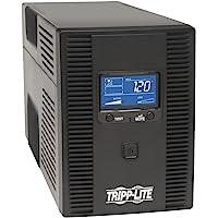 TRIPP-LITE SMART1300LCDT UPS/No Break Smart LCD; 1300VA, Interactivo, Torre 120V con pantalla LCD y puerto USB