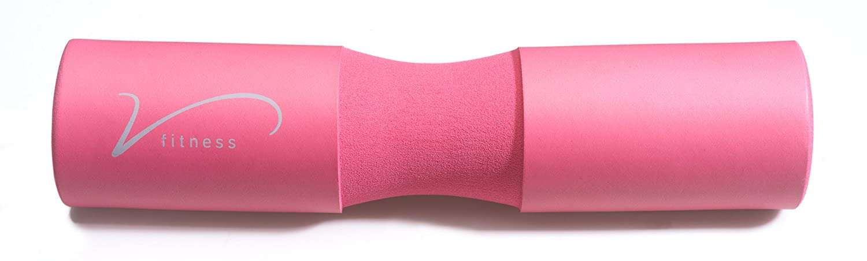 Pour soutenir et prot/éger les /épaules et les hanches Barre standard et olympique Sac de transport inclus Coussin pour flexion de jambes avec halt/ères VidaFitness pour mouvements vers lavant