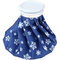 HOMYL 2pcs Knee Ice Pack Wrap Hot & Cold Water Compression Cup for Bursitis Meniscus Tear Rheumatoid Arthritis Injury Sprains Swelling - 11 inch