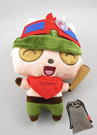 Lindo League Of Legends Peluche Lol Regalo Car¨¢cter Teemo Doll Juego Colecciona 6
