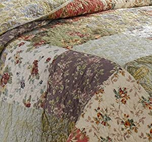 Greenland Home Blooming Prairie Quilt Sets by Greenland Home