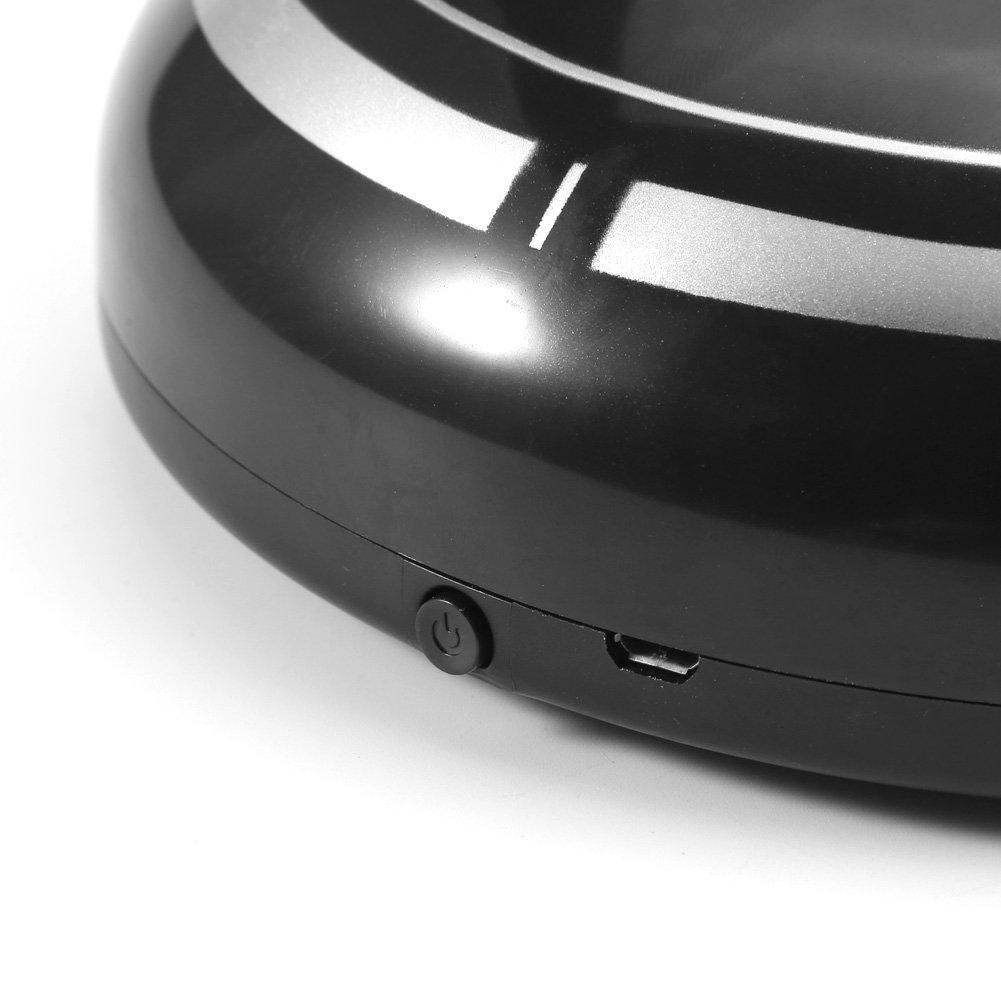 Zerodis Robot Aspirador, Automático USB Recargable Robot Inteligente Aspirador Limpiador de Piso Barrido Succión Máquina de Barrido Robot(Black): Amazon.es: ...