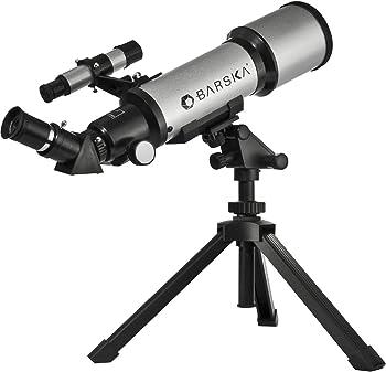 Barska 300 Power 400x70mm Refractor Starwatcher Telescope
