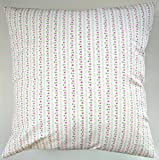 LIMITED EDITION Cushion Cover in Cath Kidston Hankie Rose Stripe 16'