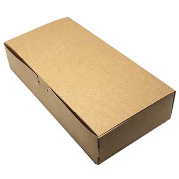 10 cajas de embalaje de papel kraft marrón para bodas ...