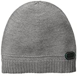 BOSS Green Men's Cincy 2 Beanie, Medium Grey, One Size