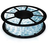 COSTWAY 10m/20m/30m LED-lichtslang voor buiten en binnen, kerstverlichting met 360/720/1080 LED's, kerstverlichting…