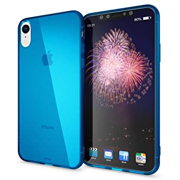 NALIA Funda Compatible con iPhone XR, Ultra-Fina Protectora Movil Carcasa Transparente Silicona Gel Bumper Estuche, Goma Cubierta Delgado Clear ...