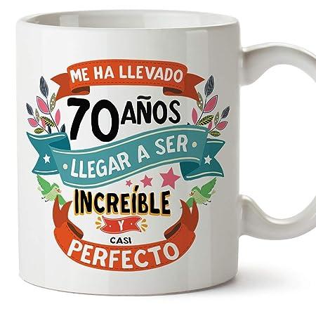 MUGFFINS Taza 70 Cumpleaños -