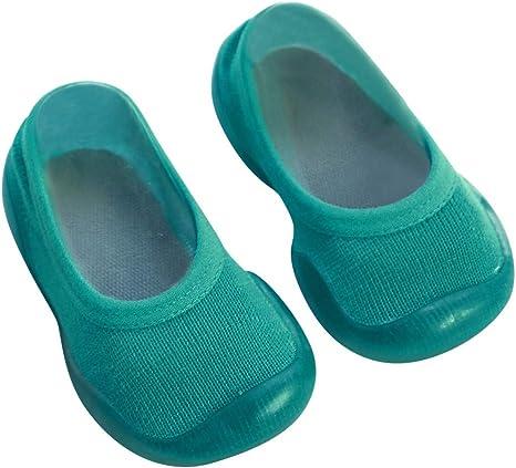 TOPBIGGER Boys Girls Sock Top Slippers
