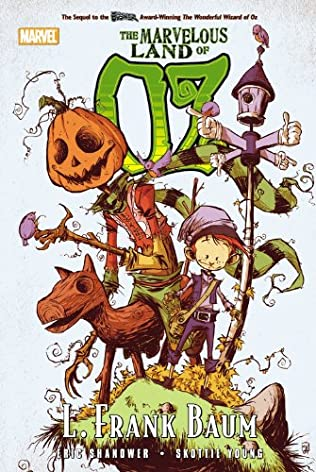 book cover of The Marvelous Land of Oz