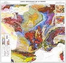 carte géologique de la France à l'échelle du millionième (6e édition): 9787159215868: Amazon.com ...