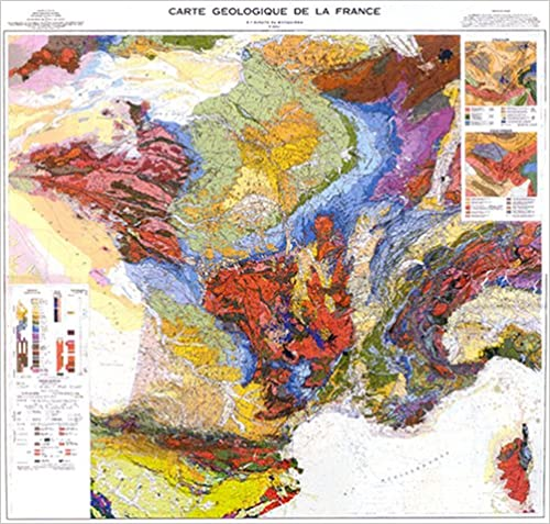 Carte Geologique Australie.Carte Geologique De La France 1 1 000 000 Pdf Telecharger