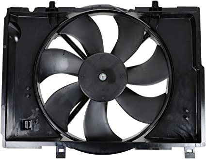 Radiador de refrigeración ventilador Motor Cubierta 5099194 AA para 04 – 07 Chrysler Crossfire V6 3.2L: Amazon.es: Coche y moto
