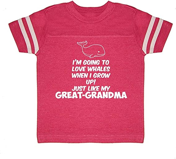 Im Going to Love Whales When I Grow Up Just Like My Nana Baby Romper