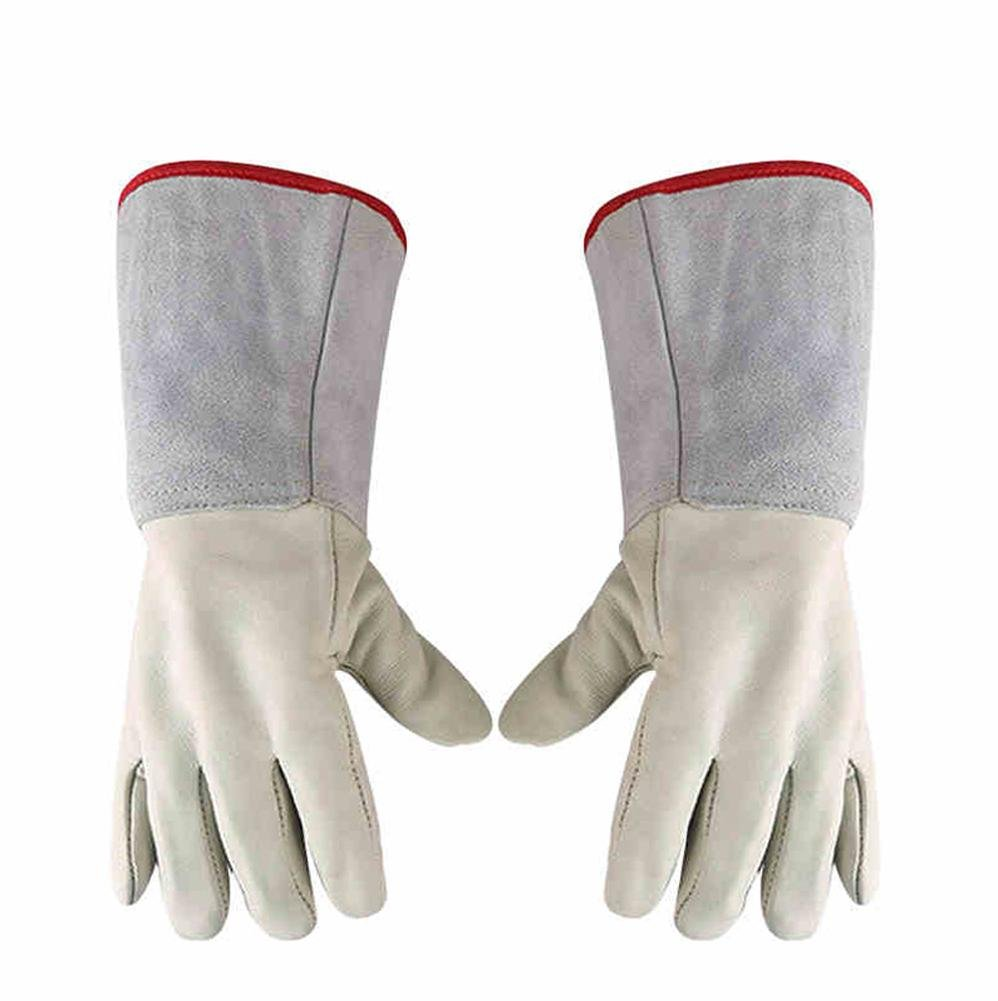 Antifreeze gloves low temperature liquid nitrogen protection filling station cold storage dry ice handling waterproof labor insurance cold gloves , 35cm LIYONGJUN