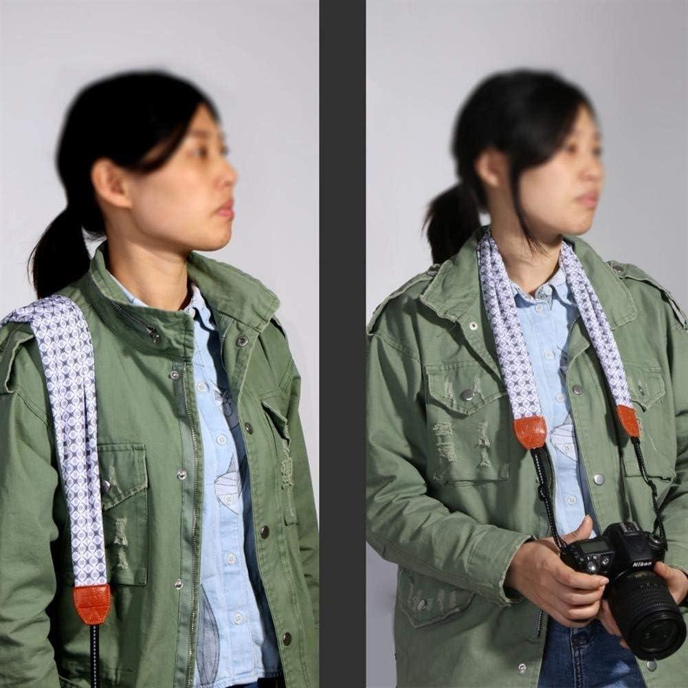 Color : Color 7 Camera Belt Accessory Universal Adjustable DSLR Camera Shoulder Neck Strap Fabric of Floral Scarf for Digital Camera Durable