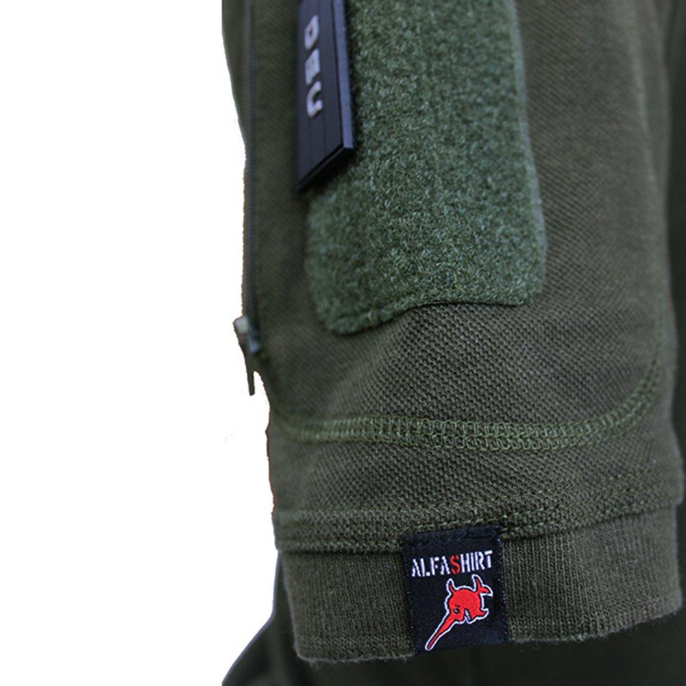 Tactical Poloshirt Alfa Marinejegerkommandoen Norway MJK Marine Special Unit