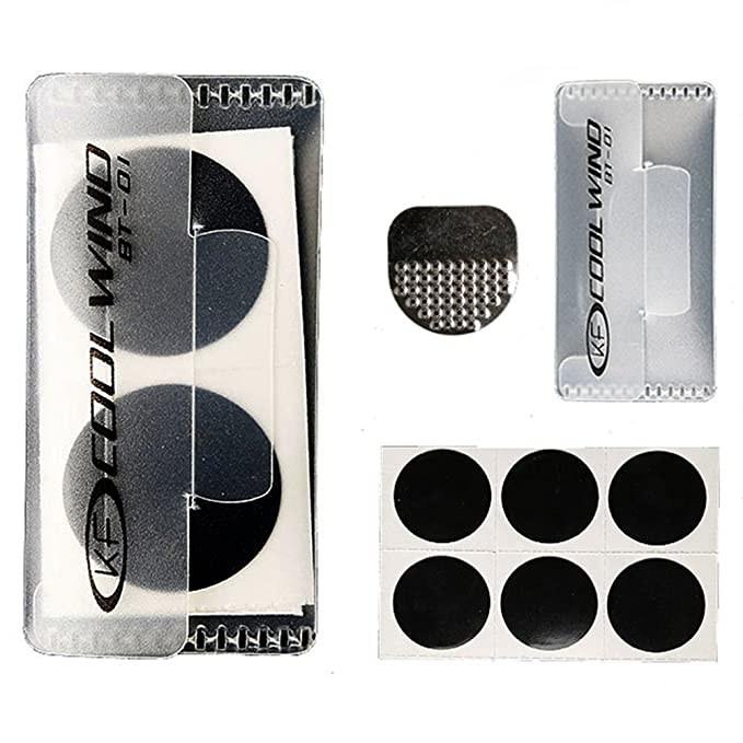 1 opinioni per Kit toppe adesive senza colla di riparazione rapida per camere d'aria di