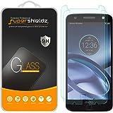 Supershieldz [2-pack] Motorola Moto Z protection d'écran en verre trempé, anti-rayure, anti-traces de doigts, sans bulles