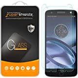 Supershieldz [2-Pack] Motorola Moto Z Tempered Glass Screen Protector, Anti-Scratch, Anti-Fingerprint, Bubble Free