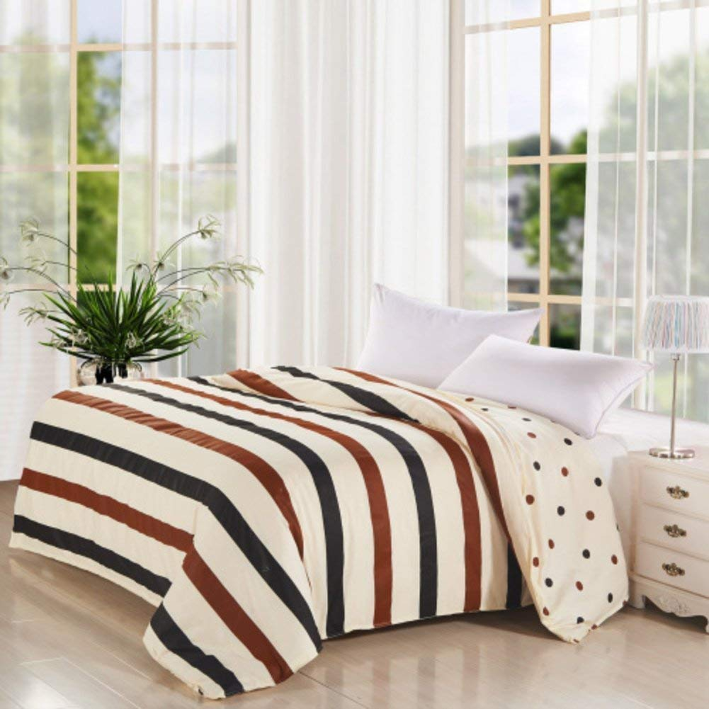 Yunyilian ベッドの裏地の綿のキルトカバーシングルピースカバー、シングルダブルベッドの項目 (Color : 160x200cm(63x79inch), サイズ : E) B07QNHHY49