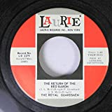 THE ROYAL GUARDSMEN 45 RPM THE RETURN OF THE RED BARON / SWEETMEAT'S SLIDE