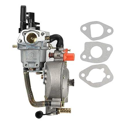Amazon.com: Venseri - Carburador de conversión LPG NG de ...