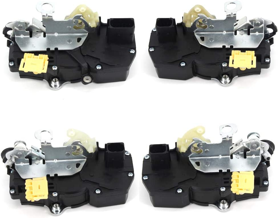 Door Latch Lock Actuator Motor Assembly Front Left//Front Right for 2008-2012 Chevrolet Malibu 2007-2009 Saturn Aura 931-310 930-311