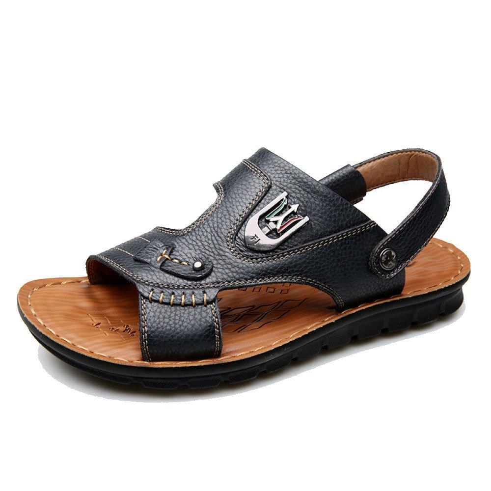 Sandalias Hombres Casual Zapatos De Playa Verano Moda Zapatillas 38 EU|Black