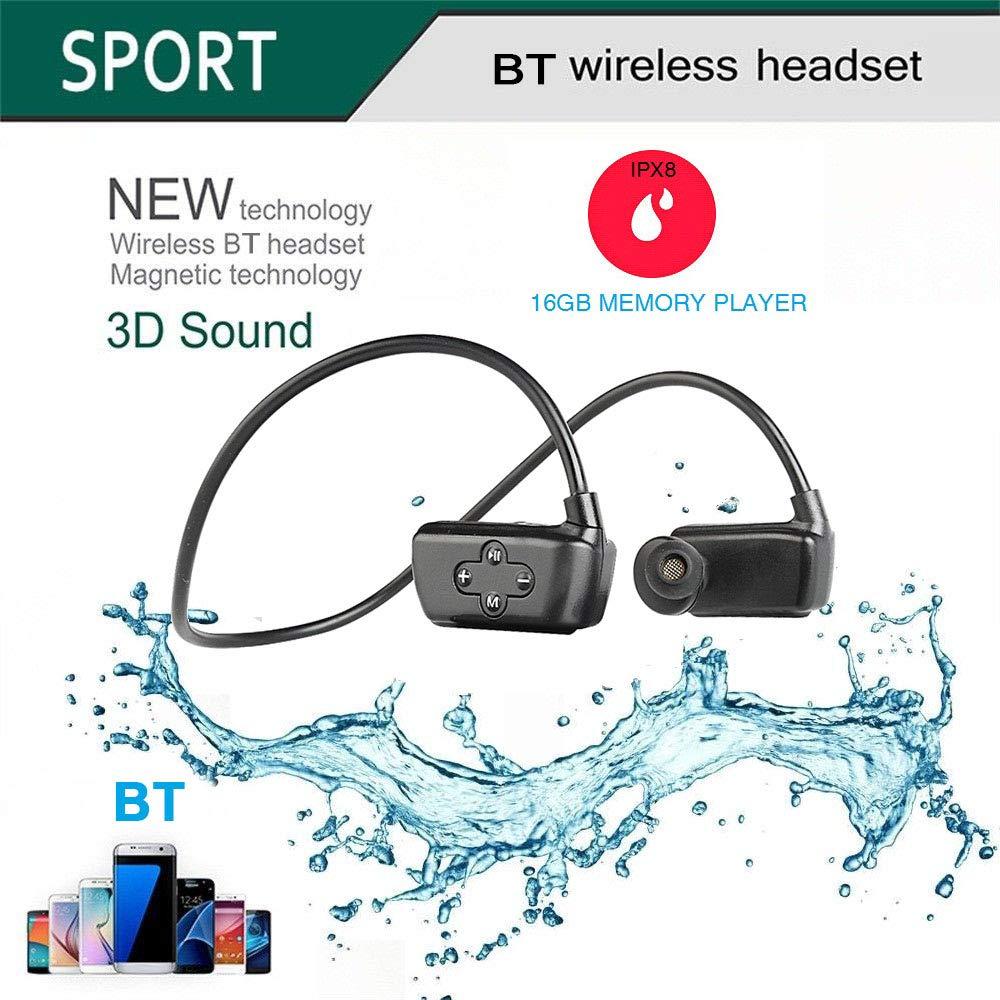 Festnight HYC-901 Auriculares inalámbricos con Bluetooth 5.0 IPX8 ...