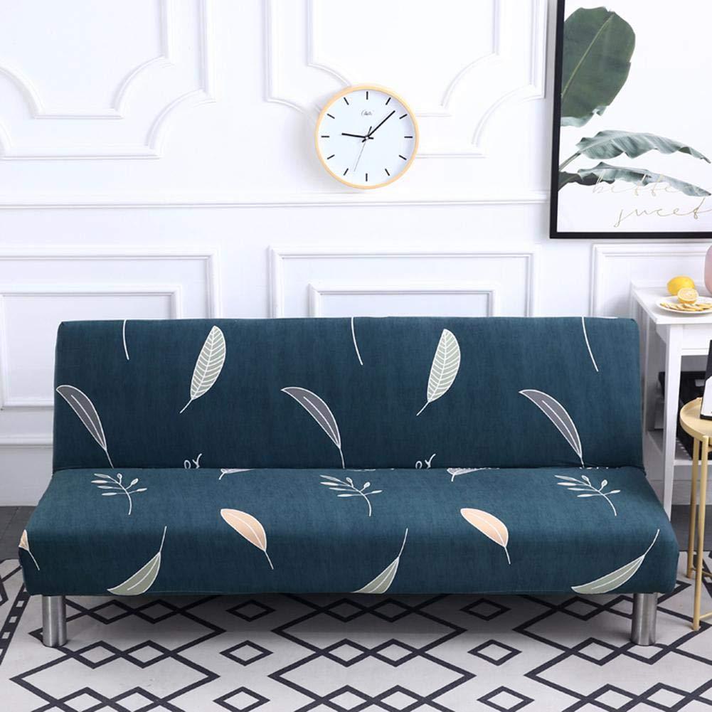 Sofá cama sin reposabrazos de estilo nórdico, funda de sofá cama de patrón geométrico, funda de sofá cama, funda de sofá cama, funda de sofá elástica ...