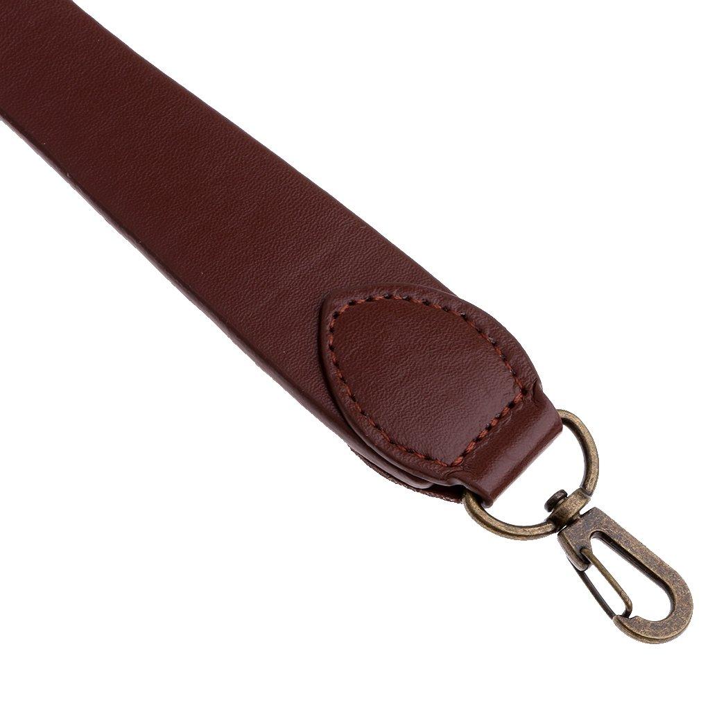 P Prettyia PU Leder Taschengriff Taschenhenkel Taschenb/ügel Tasche Griff Rahmen f/ür das Basteln und Reparieren von Handtaschen