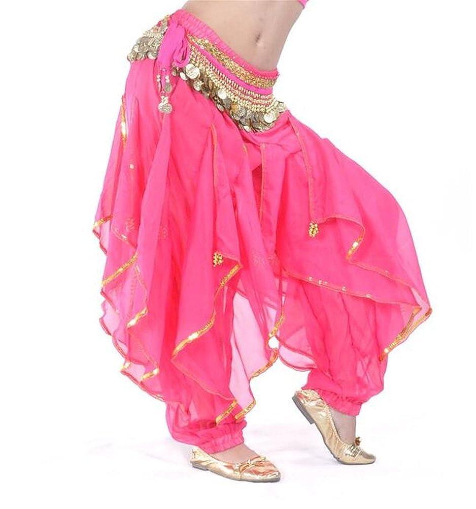 ZYZF Belly Dance Harem Pants Tribal Baggy Arabic Halloween Pants 20160728175