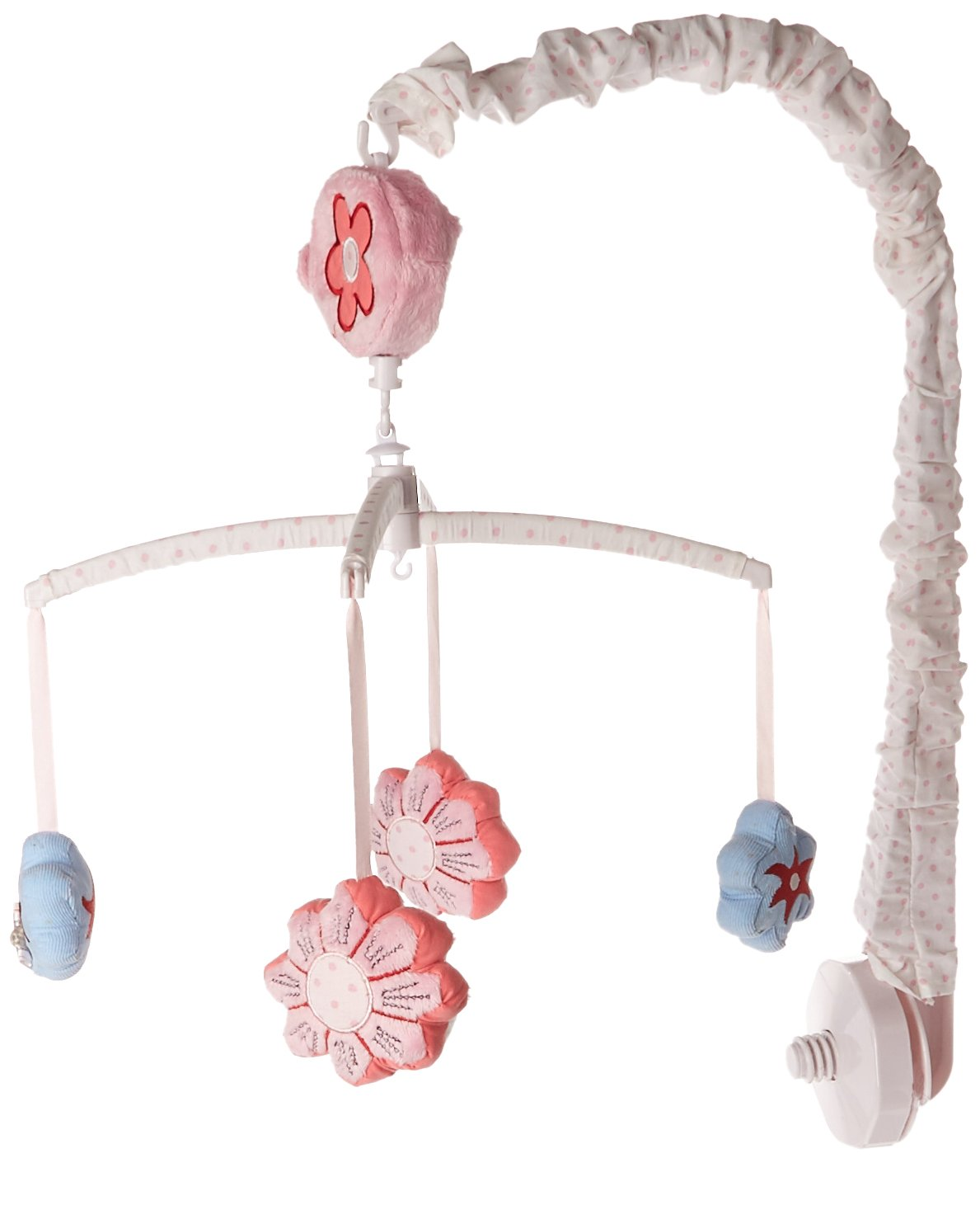 Beansprout Camille Mobile, Pink/White (Discontinued by Manufacturer)