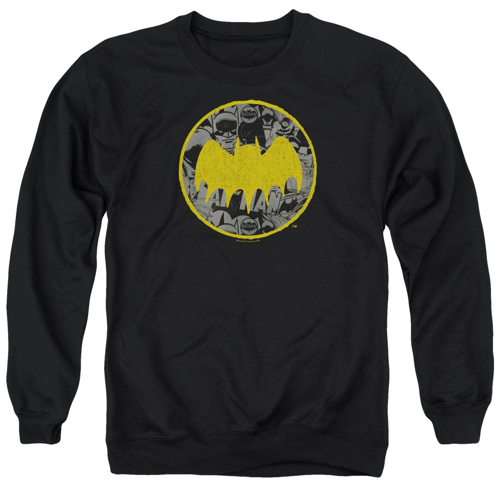 Batman - - Vintage-Collage-Pullover für Herren