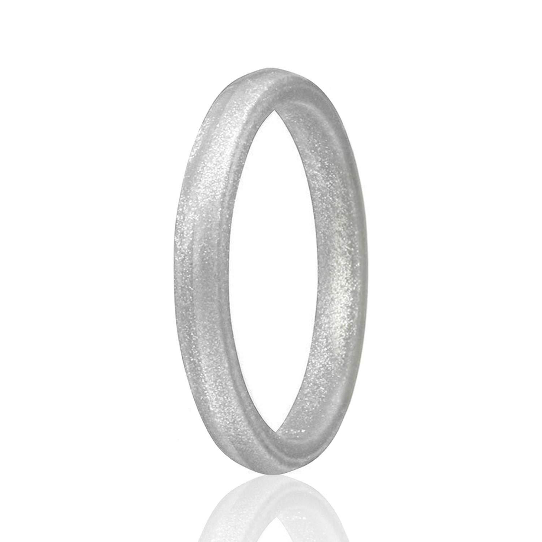 交換無料! ROQ シリコン (20.6mm) ウェディングリング レディース 11.5 手頃な価格 4 細い 重ね付け可 シリコンゴム ウェディングバンド 8 4 &シングルパック B07G33Q4X4 Point: Silver 11 - 11.5 (20.6mm) 11 - 11.5 (20.6mm) Point: Silver, ハイパーラボ:96ac25d1 --- arianechie.dominiotemporario.com