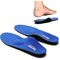Valsole Plantar Fasciitis Insoles for Men and Women Arch Supports Orthotics Shoe Inserts, Relieve Flat Feet, High Arch…
