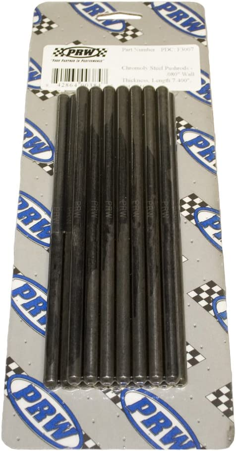 Pack of 16 PRW 94080516300 Chromoly Steel Pushrods,